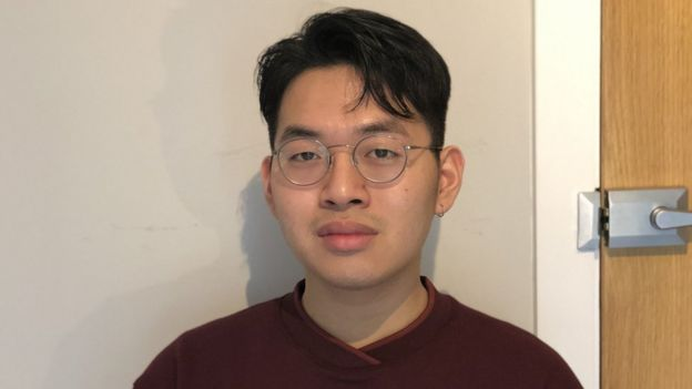 Sam Phan, student from the University of Manchester