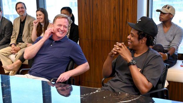 Roger Goodell et Jay-Z