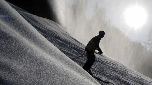 Skier in Austria