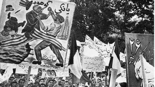 Tudeh partisinin 1953 yılında düzenlediği bir eylemden