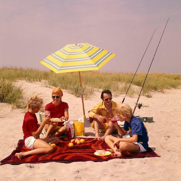 Vacación en la playa