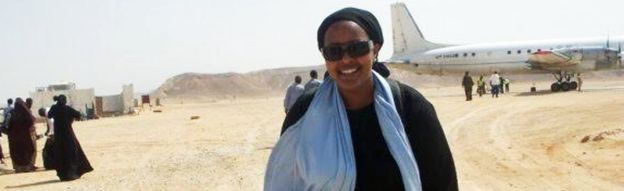 Ubah Mohamed in Somalia
