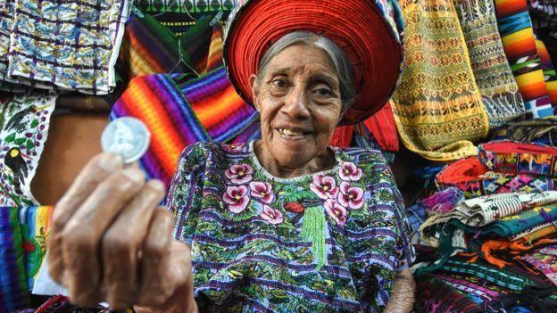 Mujer indígena en Guatemala