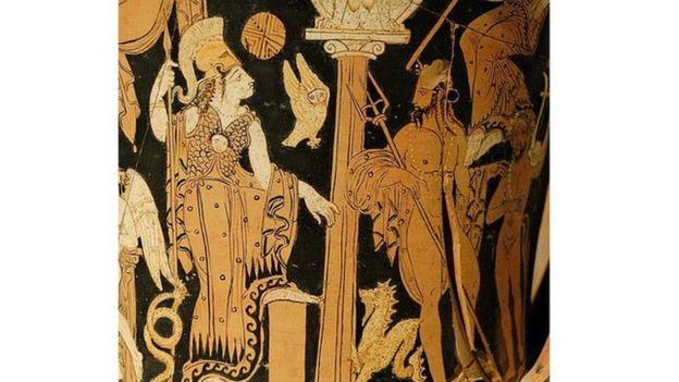 Athena ve Poseidon