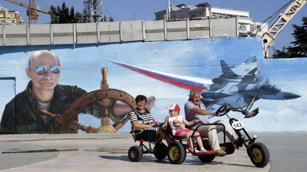 ไครเมีย, รัสเซีย, ท่องเที่ยว