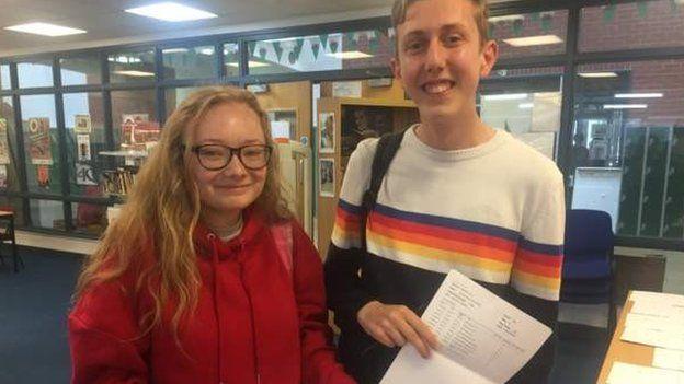 Pupils in Aberystwyth