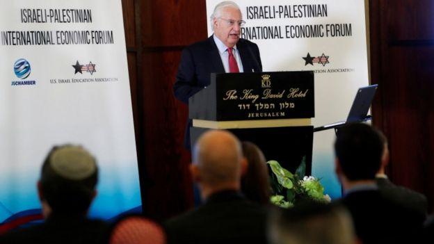 دیوید فریدمن سفیر آمریکا در اسرائیل