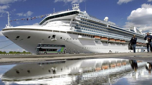 Grand Princess cruise ship (file photo)