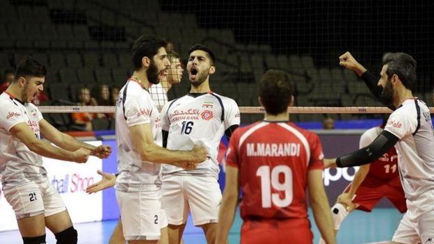 والیبال ایران لهستان را سه هیچ برد