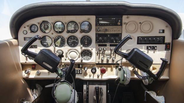 Cabina de Cessna