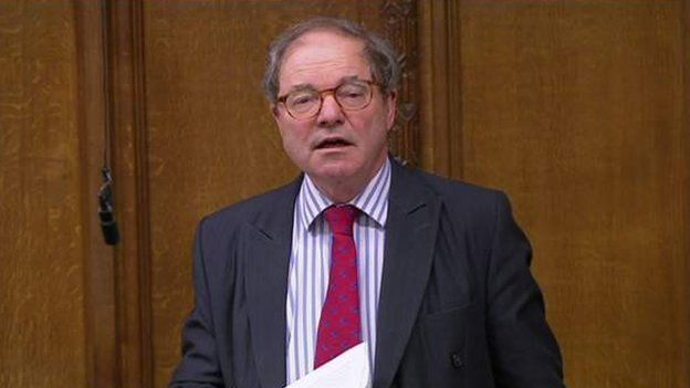 Conservative MP Sir Geoffrey Clifton-Brown
