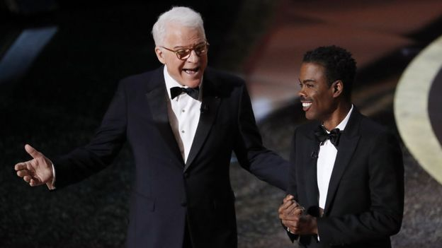Steve Martin and Chris Rock