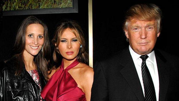 Stepanie Winston Wolkoff, Melania Trump y Donald Trump