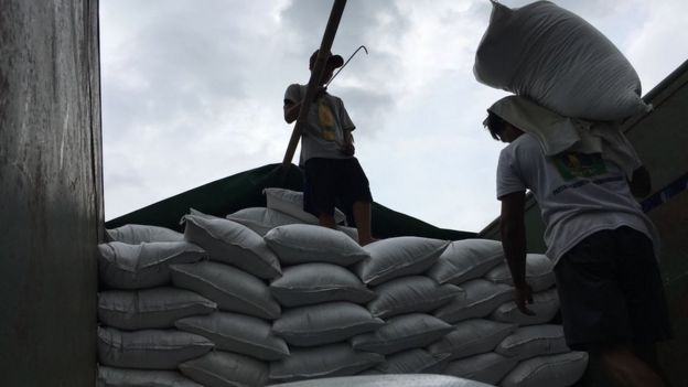 Harga beras sempat melonjak tinggi di pasaran