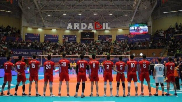 هفته چهارم این مسابقات در شهر اردبیل ایران برگزار شد