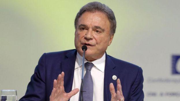O senador Álvaro Dias