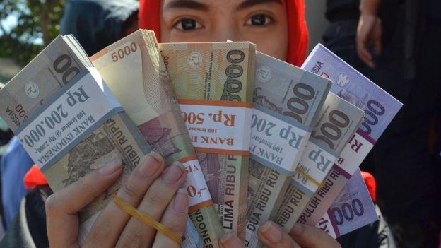 印尼盾一度跌至1998年亞洲金融危機以來的最低點