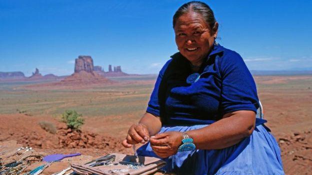 Женщина навахо