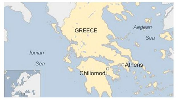 Ancient Greece Map With Cities.Ancient Greek City Tenea Found By Archaeologists Bbc News