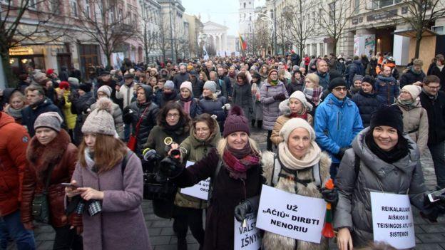 Демонстрация в поддержку учителей