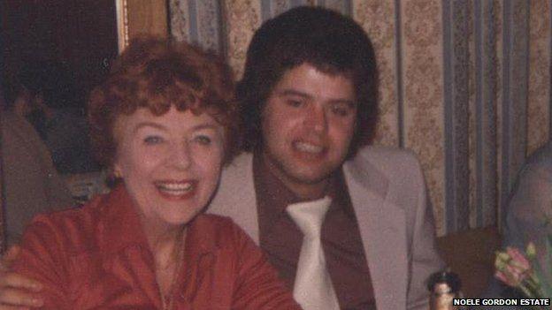 Noele Gordon and Paul Henry in 1978