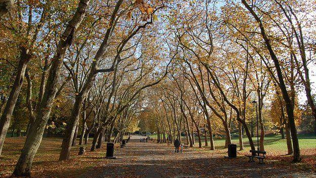 Crystal Palace park (Image: BBC)