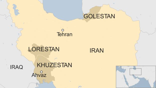 Flooding from heavy rainfall in Iran kills 70, coroner says