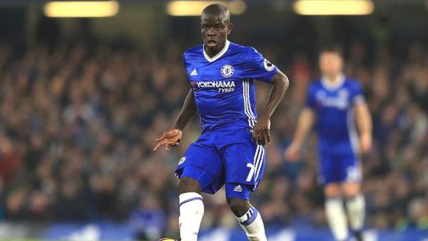 Kanté est aussi nommé avec Hazard pour le trophée PFA de joueur de l'année, qui sera dévoilé dimanche soir à Londres.