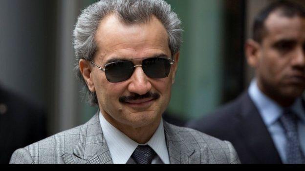 Mwengine aliyekematwa ni billionaire Prince Al-Waleed bin Talal.