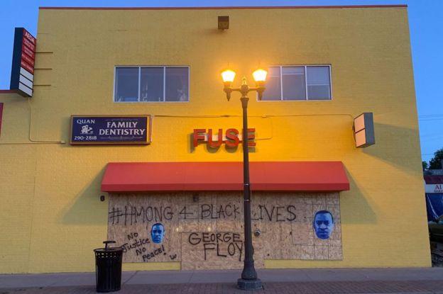 Graffiti in Minneapolis