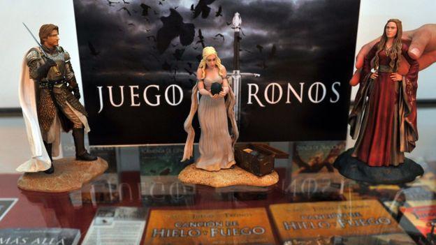 Muñecos de Juego de Tronos.