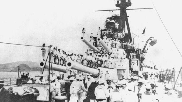 Os marinheiros assumiram o comando de quatro navios. (Fonte: Arquivo Geral da Cidade do Rio de Janeiro)