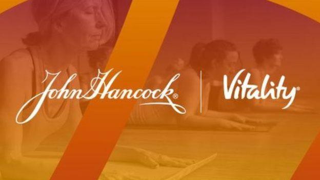 Cartaz da seguradora John Hancock