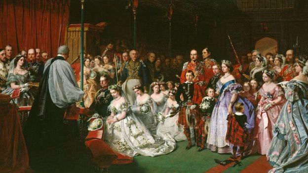 Венчание дочери королевы Виктории