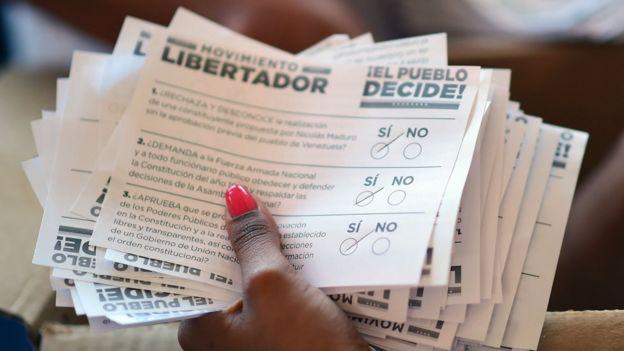 Boletas de votación