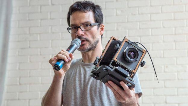 Fotógrafo Tuca Vieira