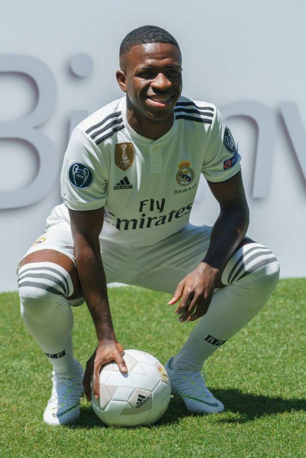 El brasileño Vinicius ha sido la principal contratación del Real Madrid este año.