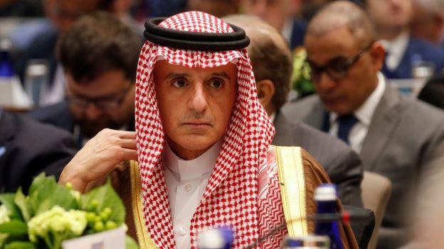 عادل الجبیر وزیر مشاور در امور خارجی عربستان