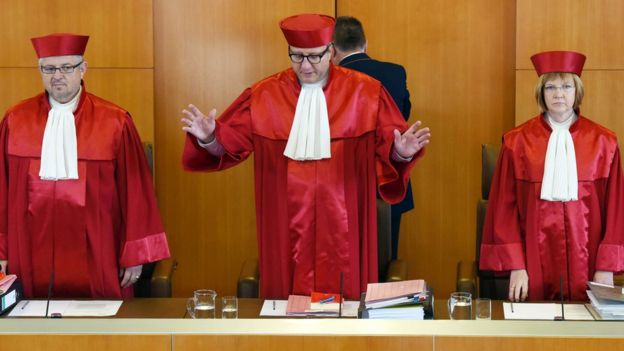 Judges at Constitutional Court, 12 Oct 16