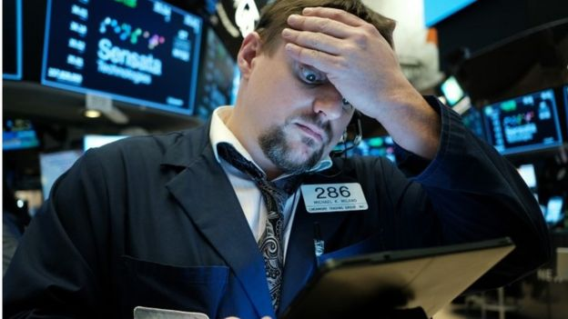 Technology Stocks Slide as Wall Street goes into Reverse