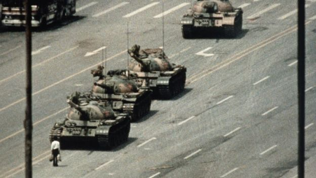 """Tank Man"" in Beijing"