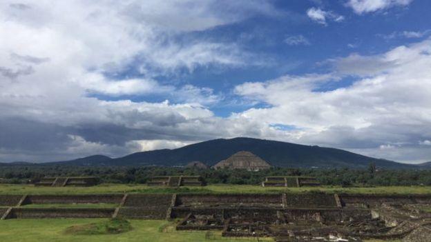 As pirâmides de Teotihuacán são um dos sítios arqueológicos mais emblemáticos de todo o México