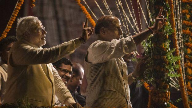 राजनाथ सिंह और नरेंद्र मोदी