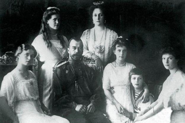 عائلة القيصر نيكولاس الثاني