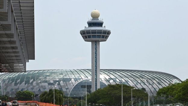 Control Tower of Changi International Airport