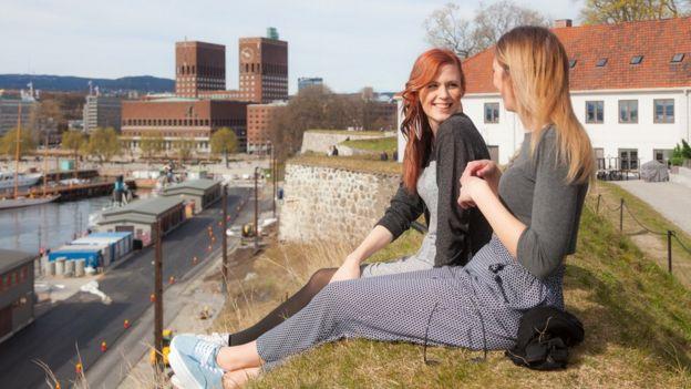 Chicas en Oslo