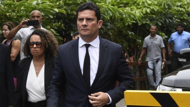 El juez Sérgio Moro