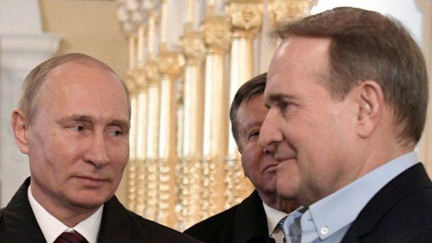 Путин - Медведчук
