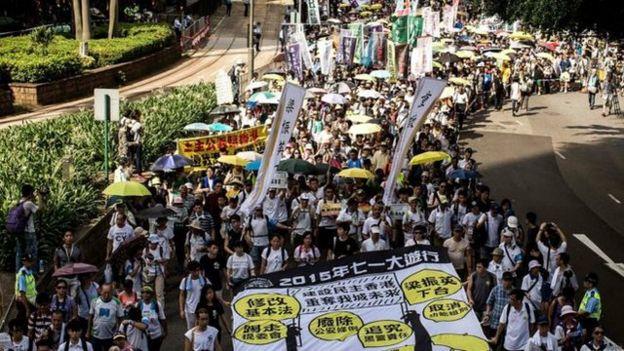 香港民阵每年都会举行