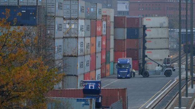 La gran capacidad exportadora ha sido una característica de la economía alemana.